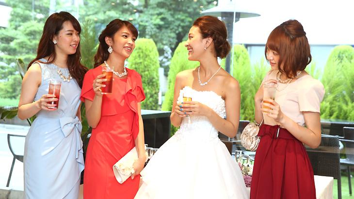 結婚式二次会パーティドレス選びのポイント