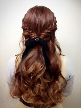 結婚式・パーティお呼ばれヘア. 迷ったらこれ♪人気な編み込みハーフアップ特集♡