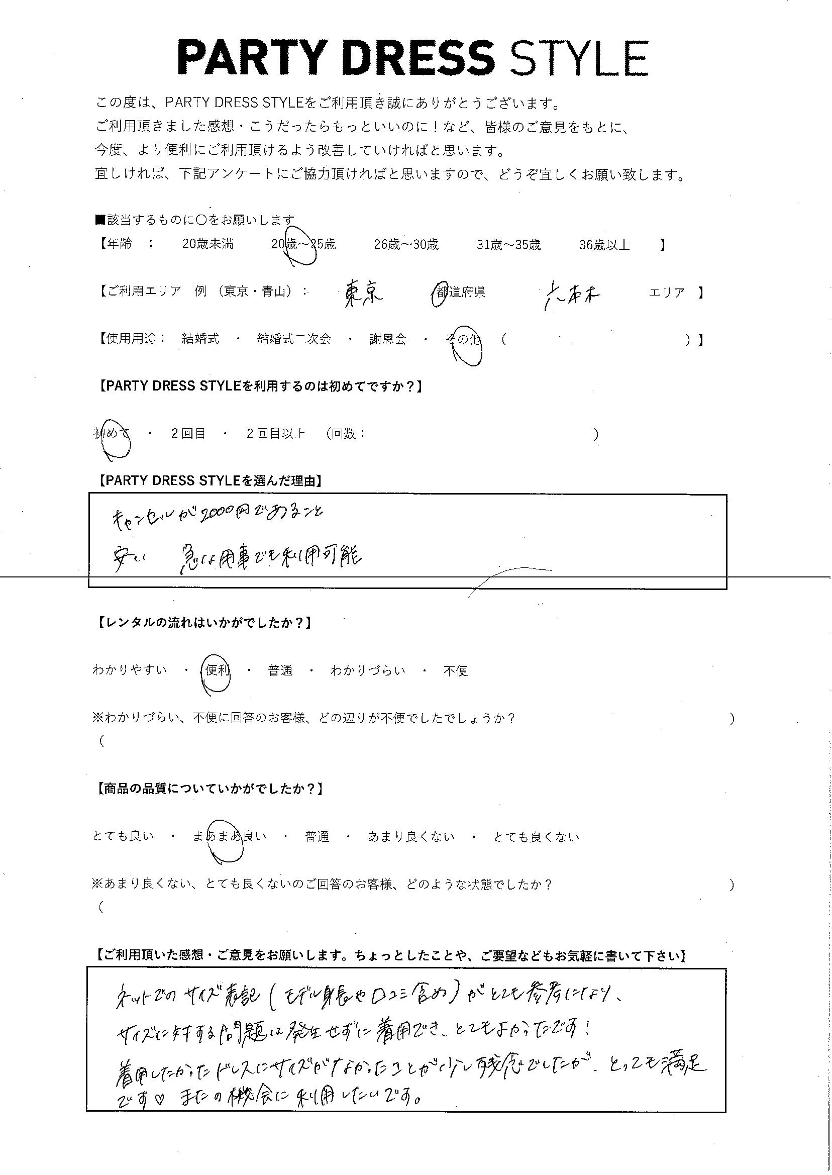 4/1 その他 東京・六本木エリア
