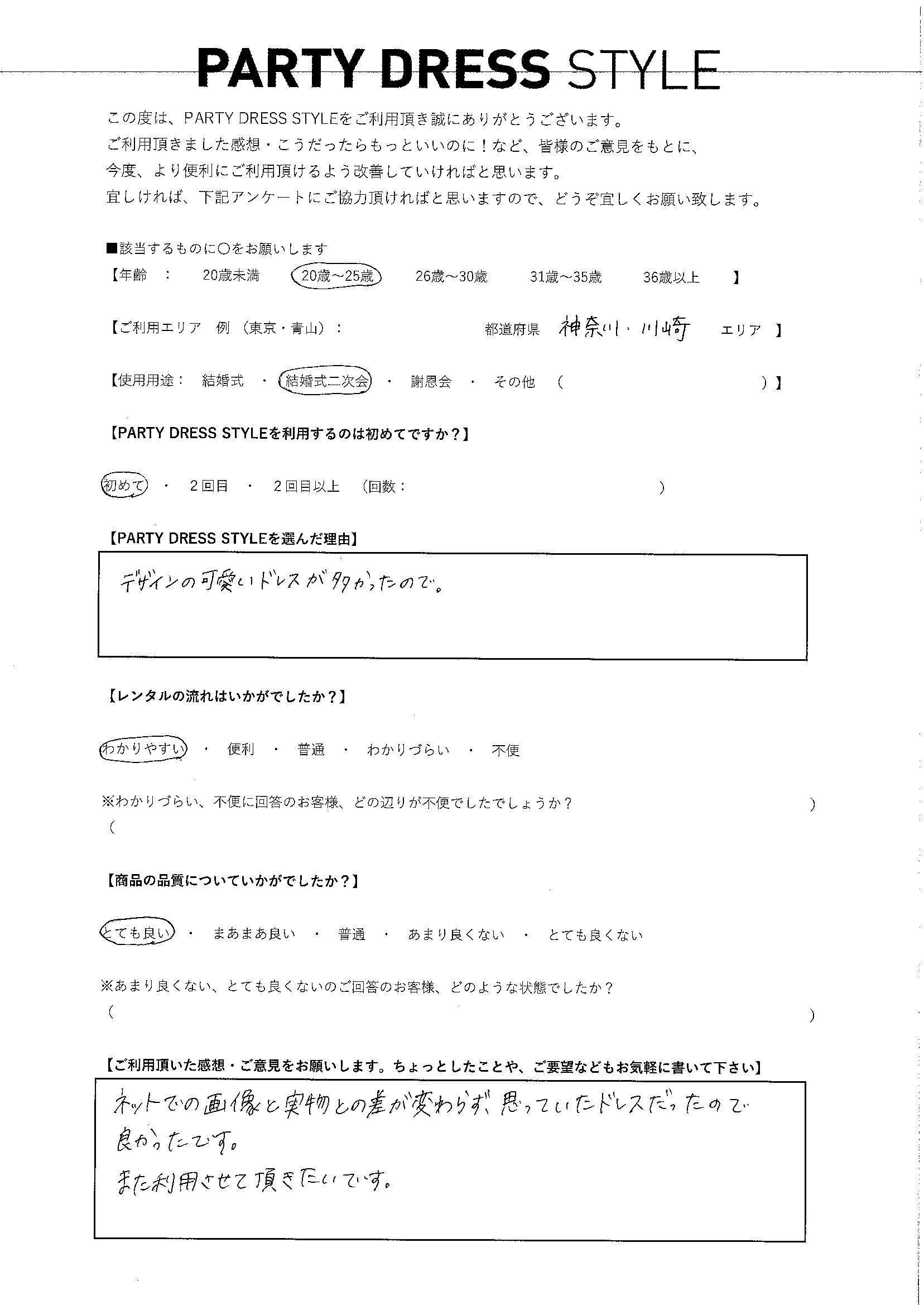 5/12結婚式二次会利用 神奈川県・川崎エリア