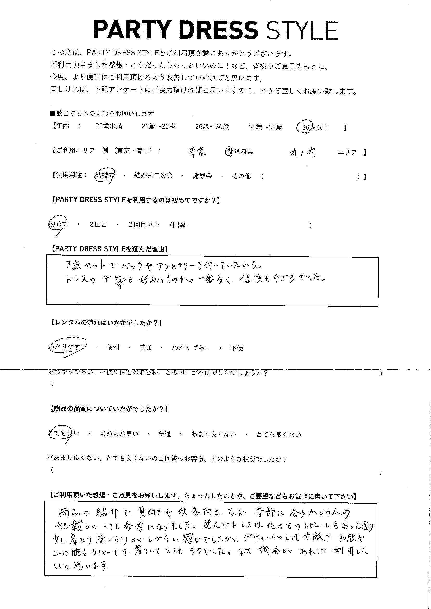 6/30結婚式 東京都・丸の内エリア