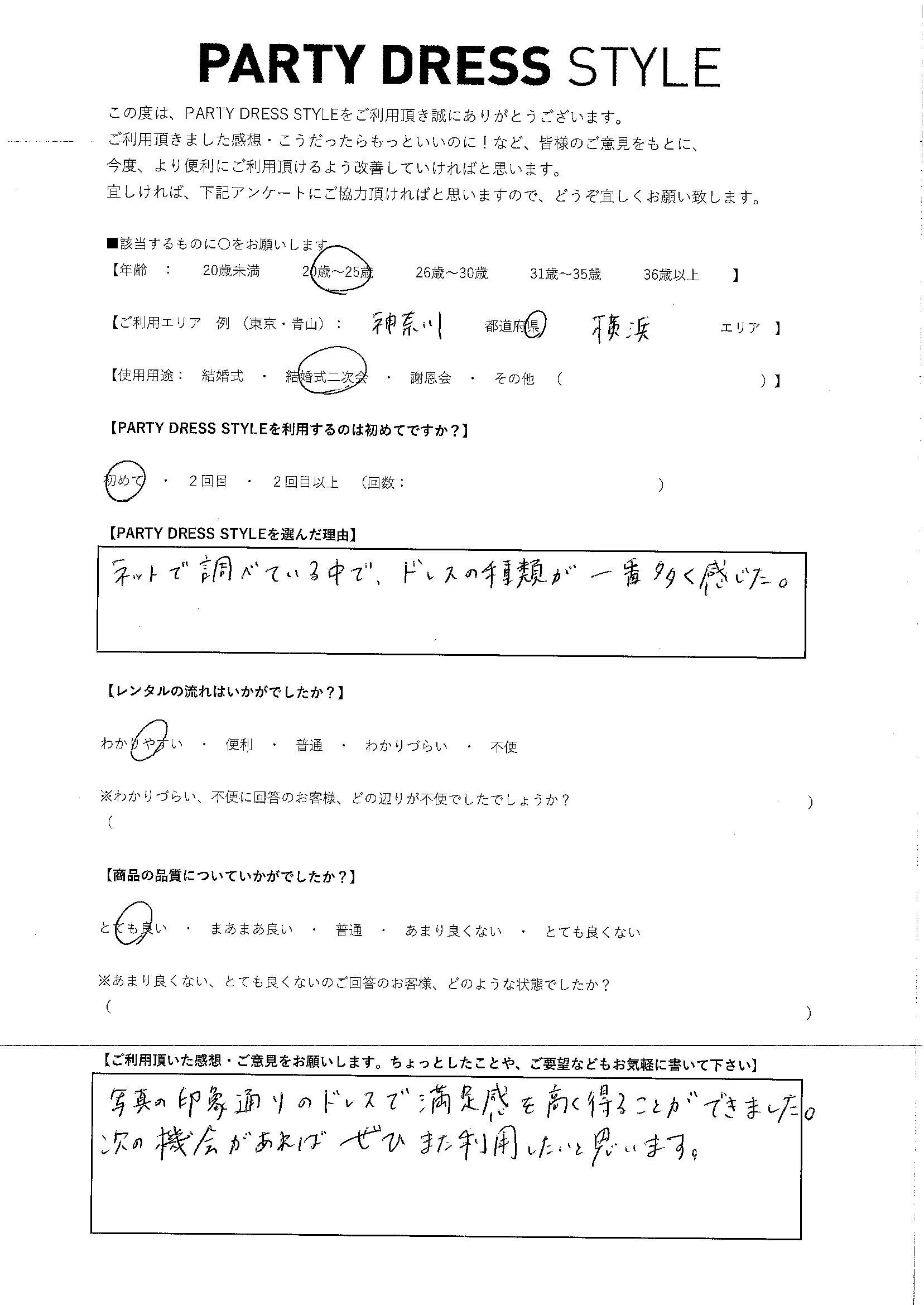 12/14結婚式二次会ご利用 神奈川・横浜エリア