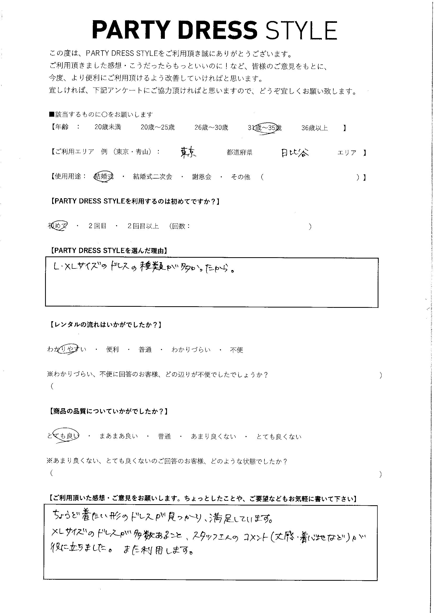 2/1結婚式ご利用 東京・日比谷エリア