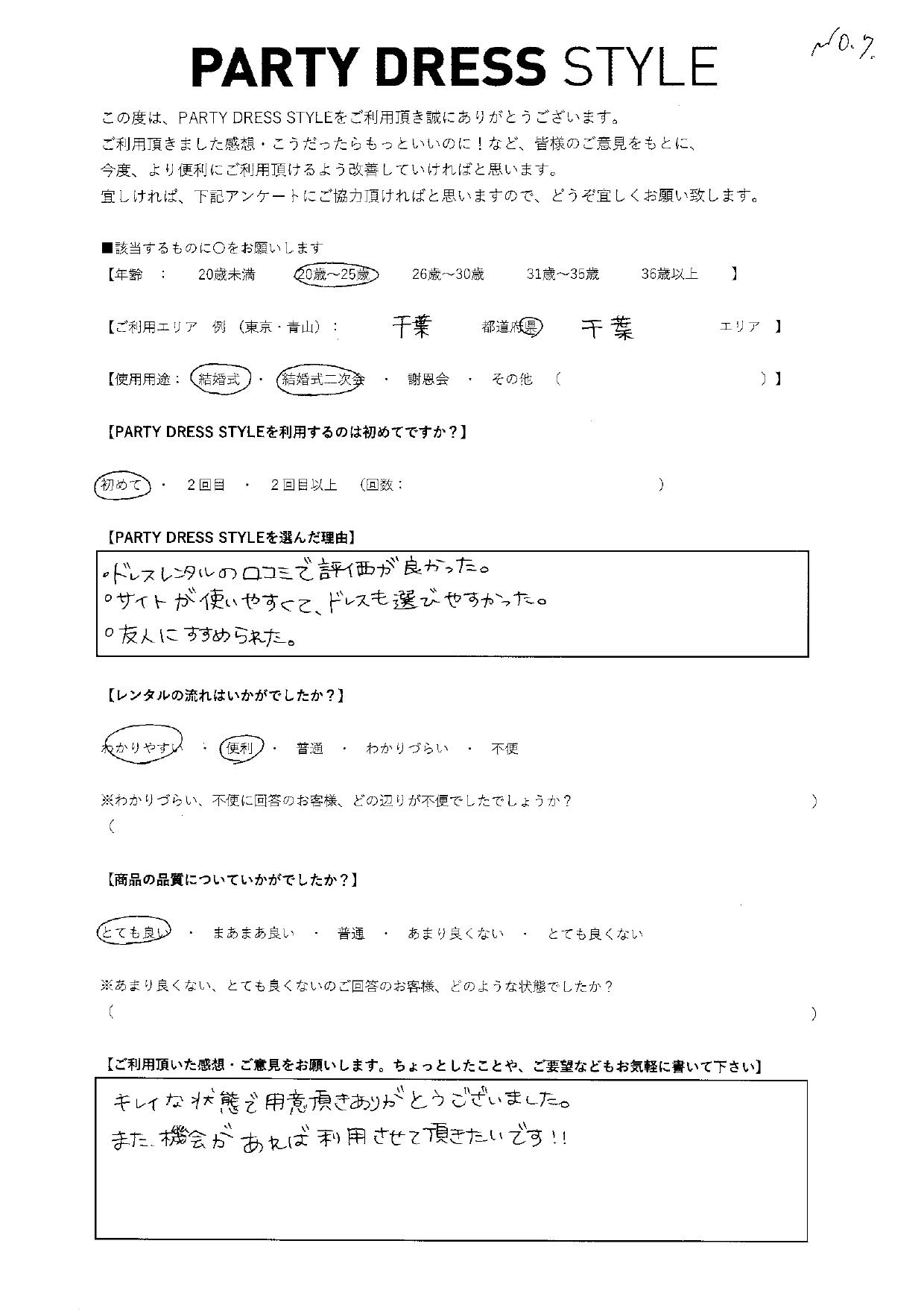 4/4結婚式・結婚式二次会ご利用 千葉県・千葉エリア