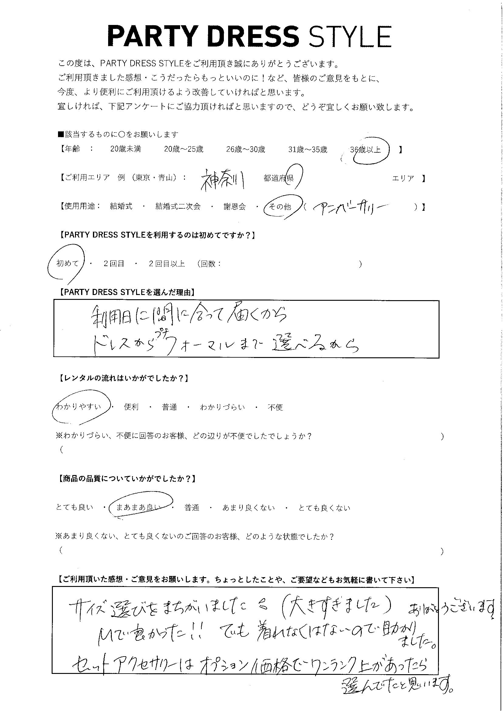 4/24アニバーサリーご利用 神奈川エリア